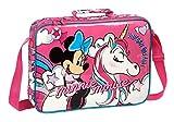 safta 612012385 Cartera Extraescolares de Minnie Mouse, Rosa, Único
