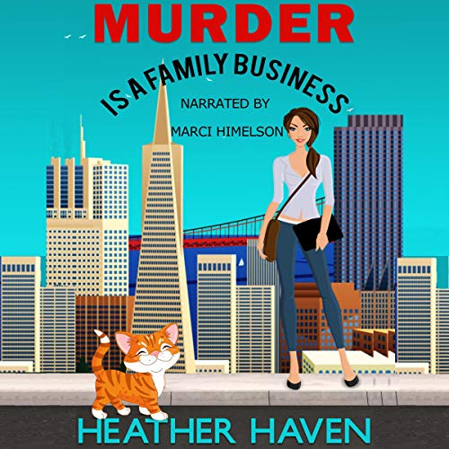 Murder Is a Family Business audiobook cover art