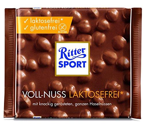 Ritter Sport Voll-Nuss laktosefrei, glutenfrei, (1 x 100 g)