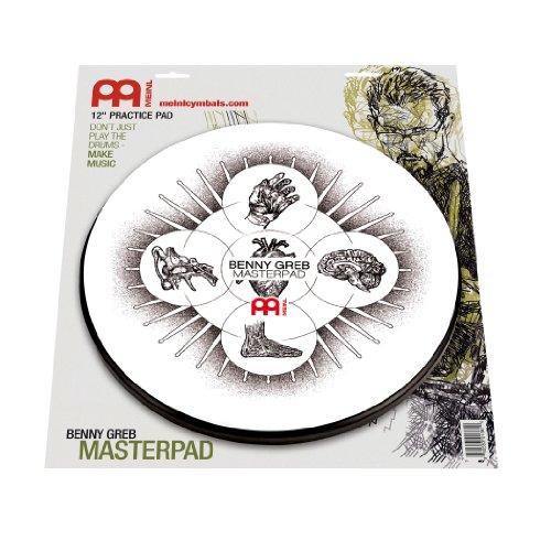 Meinl Cymbals MPP-12-BG Übungspad Benny Greb Masterpad 30,4 cm (12 Zoll)