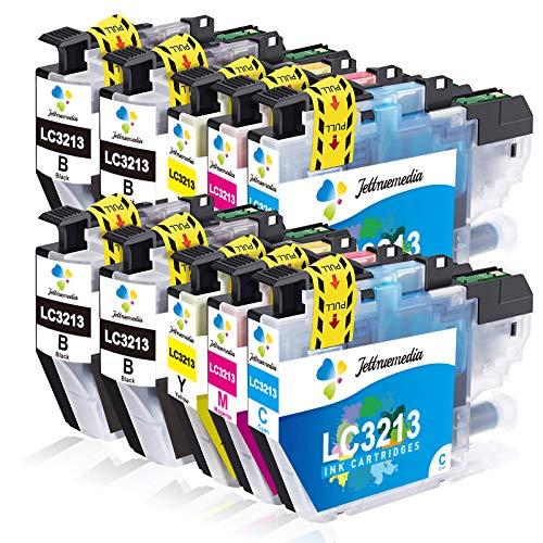 Brother LC-3213 LC-3211 Kompatible Druckerpatronen als Ersatz für Brother MFC-J491DW MFC-J497DW DCP-J572DW DCP-J772DW DCP-J774DW MFC-J890DW MFC-J895DW (10er-Pack)