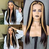 Best Brazilian Virgin Hairs - Highlight Lace Front Wigs Human Hair Silky Straight Review