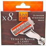 La Maison du Barbier – Pack de 3 cuchillas x 8