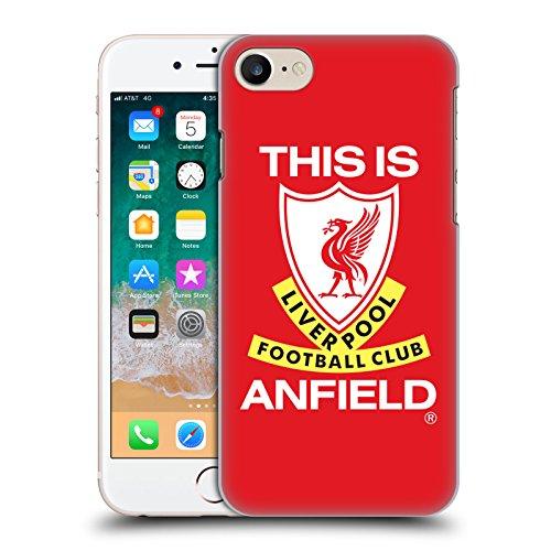 Head Case Designs Offizielle Liverpool Football Club Das Ist Anfield Retro Kamm Harte Rueckseiten Handyhülle Hülle Huelle kompatibel mit Apple iPhone 7 / iPhone 8 / iPhone SE 2020