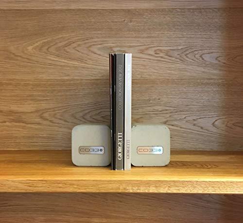 Buchstützen aus Beton (2 Stück.) | CO33