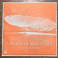JAL カレンダー 2021年 壁掛け A WORLD OF BEAUTY
