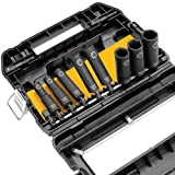 DEWALT DW22838 3/8-Inch 10-Piece Impact-Ready Socket Set