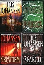 Set of 4 Hardback Iris Johansen Novels - Body of Lies, The Search, Firestorm, and Deadlock