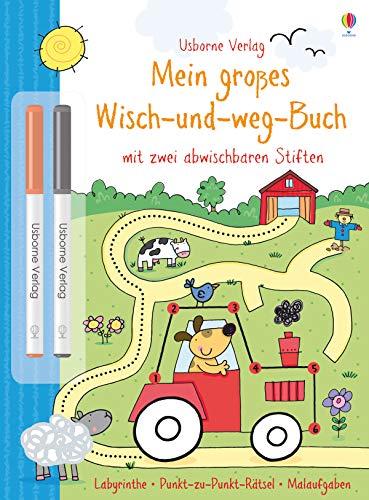 Mein großes Wisch-und-weg-Buch: mit abwischbaren Stiften