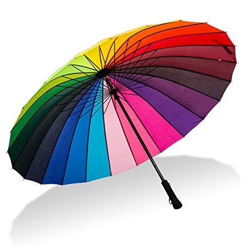 Long Parapluie Parapluie Femelle Ensoleillée Avec Sac À Bandoulière
