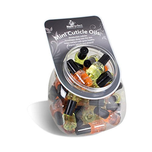 Nail Perfect - Cuticle Oil Fishbowl Almond/Peach 50pcs