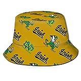 Notre Dame Fighting IRI-sh Bucket Hat Sun Hats for Men Summer Outdoor Sun Protection Wide Brim Bucket Hat Foldable Cap Fashional Bucket Hats for Women