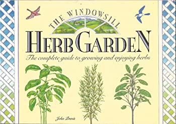 Hardcover Windowsill Herb Garden Bk Book