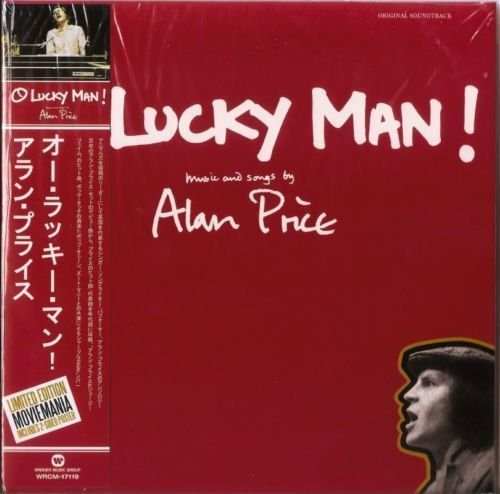 ALAN PRICE O Lucky Man! Original Soundtrack Mini LP CD WITH OBI + Poster Limited Edit.