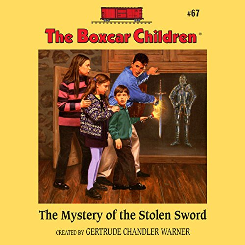 The Mystery of the Stolen Sword cover art