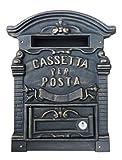 Kippen 1183B Cassetta Porta Lettere in Ghisa Modello Old, Bronzo