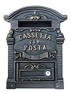 Kippen 1183B Cassetta Porta Lettere in Ghisa Modello Old, Bronzo (B00FEK5UBA)   Amazon price tracker / tracking, Amazon price history charts, Amazon price watches, Amazon price drop alerts