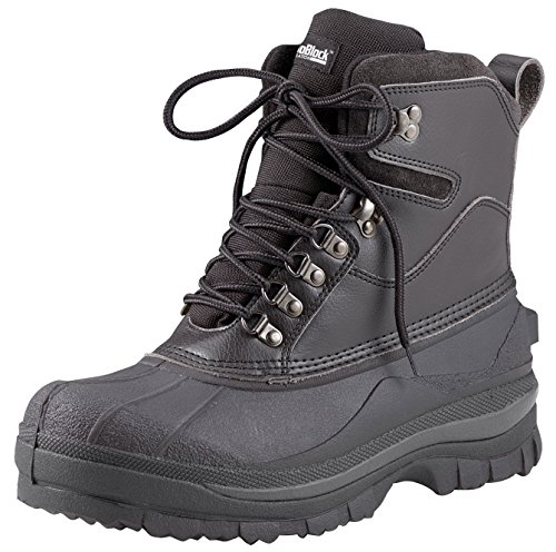 Rothco 8'' Cold Weather Hiking Boot, Black, 9