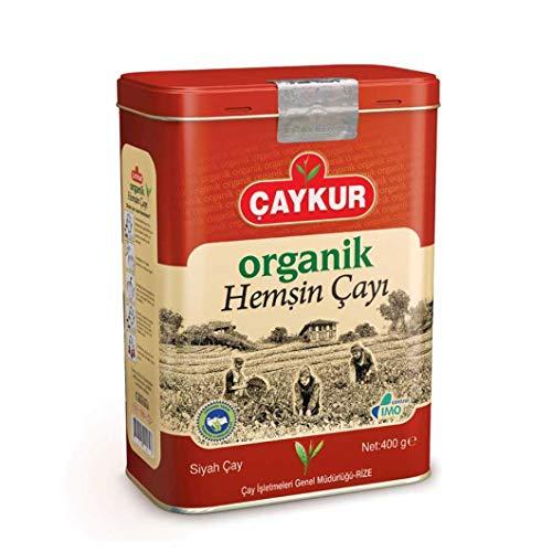 CAYKUR organik Hemsin Cayi Teneke kutuda, Türkischer Schwarzer Tee 400g Blechdose