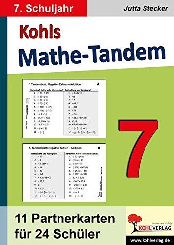 Kohls Mathe-Tandem 7: Partnerrechnen im 7. Schuljahr