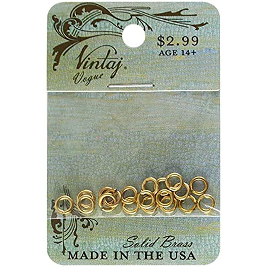 Vintaj Metal Jump Rings-Smooth 5Mm 20/Pkg