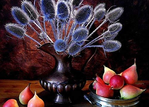 Stillleben Krug Birnenfrüchte Pflanze 1000 Stück Verdickte Große Puzzle Kindergeburtstagsgeschenke