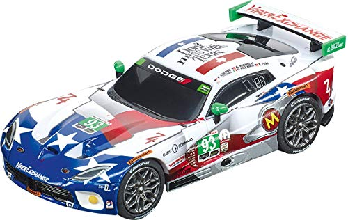 Carrera 64160 2015 SRT Viper Ben Keating Team No. 93 1:43 Scale Analog Slot Car Racing Vehicle for Carrera GO!!! Slot Car Race Tracks