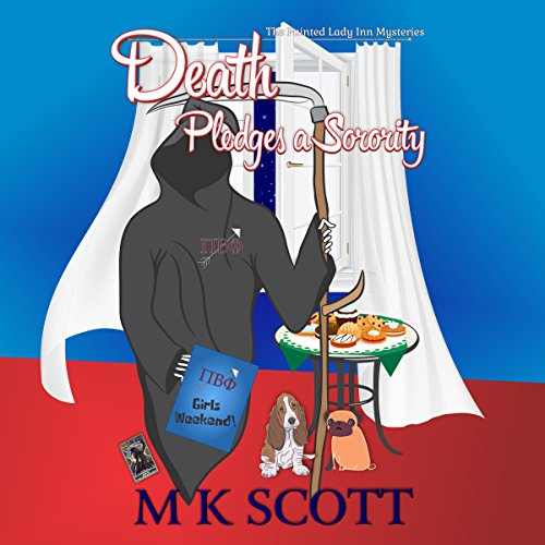 Death Pledges a Sorority: A Cozy Mystery with Recipes cover art