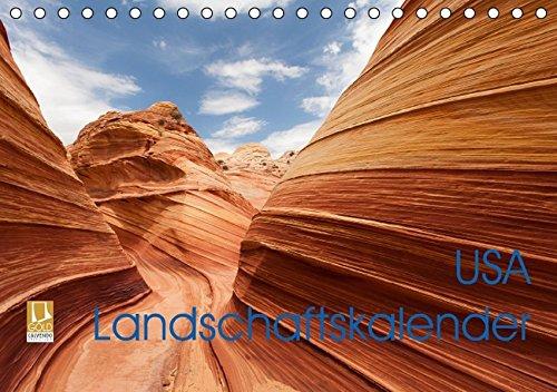 USA Landschaftskalender (Tischkalender 2016 DIN A5 quer): Fantastischer Landschaftskalender mit einer erlesenen Auswahl von unberührten und ... (Monatskalender, 14 Seiten) (CALVENDO Orte)
