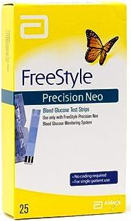 نوارهای تست قند خون FreeStyle Precision Neo 25 WLM را محاسبه می کنند