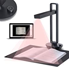 $481 » Enweonga Document Cameras Scanner, 14MP Professional HD Book Photo Scanner with Foot Pedal, Intelligent OCR, Maximum A3 Si...