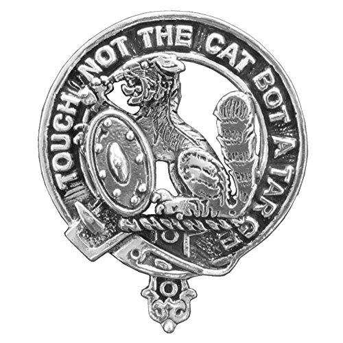 MacBain Clan Crest Scottish Cap Badge