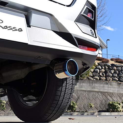 ロッソモデロ マフラーカッター 【MARVELOUS T1】 トヨタ ライズ A210A ダイハツ ロッキー A210S 4WD専用 チタン