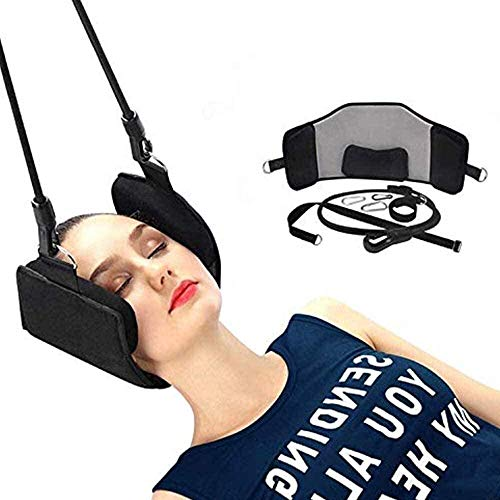 Tgbyhnujm Neck Hammock Portable Cervical Traction Device and Relaxation Sling Hammock Relief Head & Shouder Pain/Stress in 10 Minutes or Less for Frequent Neck Pain Relief and Physical Therapy.