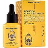 Seven Potions Premium Beard Oil for Men — Jojoba Oil Beard Softener to