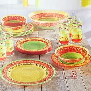 Luminarc Dinnerware Set Pueblo Corail 25-Piece for 6 Persons