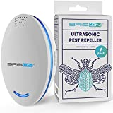 BRISON Ultrasonic Pest Repeller Plug-in Control Electronic Insect Repellent Gets Rid Mosquito Bed Bugs Roach Spiders Fleas Mice Ants Fruit Fly [1 Pack]