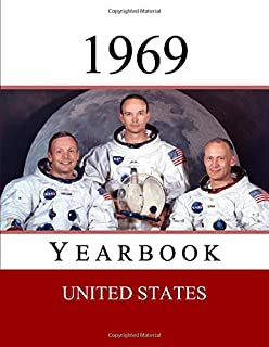 1969 US Yearbook: Original book full of facts and figures from 1969 - Unique birthday gift / present idea. (US Yearbooks)