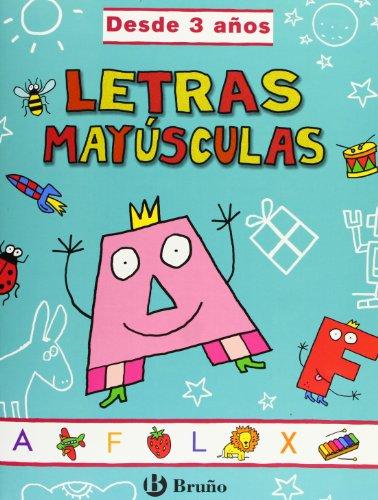 Letras mayúsculas (desde 3 años) (Castellano - Material Complementario - Grandes Cuadernos)...