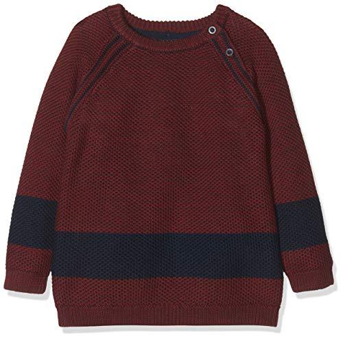 Name It NMMOVANT LS Knit Pull, Multicolore (Cabernet Cabernet), 3 Ans Bébé garçon