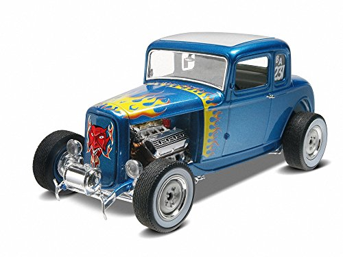 Revell-Monogram maquette de voiture 1932 Ford 5 fenêtre Coupe 2 en 1 Echelle 1 /25, 85-4228, Multicolor
