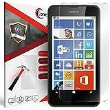 Conie 9H2698 9H Panzerfolie Kompatibel mit Nokia Lumia 630, Panzerglas Glasfolie 9H Anti Öl Anti Fingerprint Schutzfolie für Lumia 630 Folie HD Clear