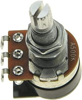 Shadow Kill Pot Guitar Bass Potentiometer with Push Switch to Kill the Sound Audio or Linear Taper A25K/A250K/A500K/B25K/B250K/B500K
