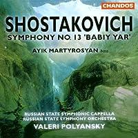 Symphony 13 / Babiy Yar Op 113 by NICOLAS MEDTNER (1999-01-19)