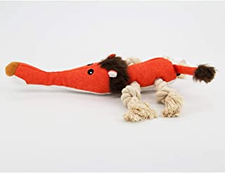 squeaky lion dog toy
