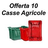 MPR PLAST 10 Cassette agricole impilabili Aperte per Olive