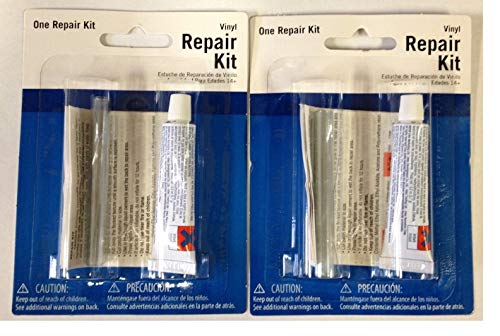 Intex 59633W - Kit de reparación de Parches de Vinilo, 2 Orificios de plástico para perforación