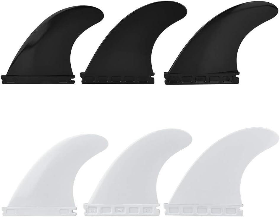 Zerone Fibreglass store Surfboard Fins Fin Thruster Set Sales Plastic Nylon