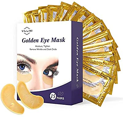 10 x Collagen Gold Eye Pad Crystal Collagen 24k Gold Under Eye Gel Mask Anti Aging Wrinkle Remover Patch by Ardisle