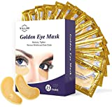 Locisne Eye Gel Pads- 100 pares de pestañas Lash Extension Pads Sin pelusa Under Eye Gel Parches Beauty Tool para Pro Salon Extensión individual de pestañas (100 bolsas = 200 piezas)